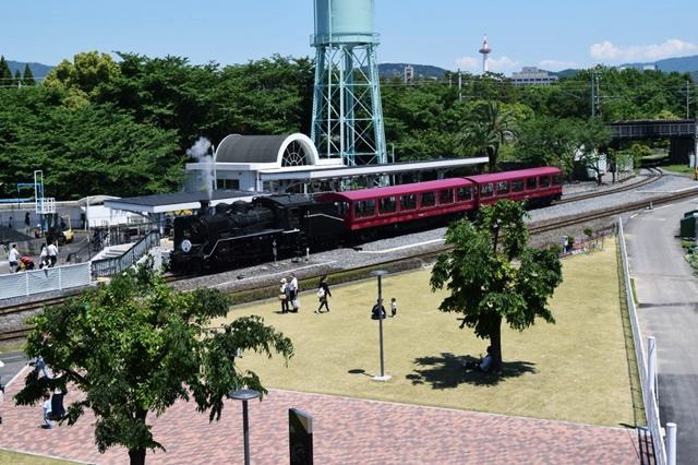 京都鉄道博物館SL