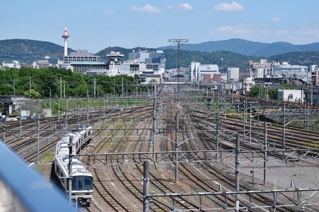 京都鉄道博物館展望台